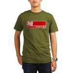 BJJ basics, white red Organic Men's T-Shirt (dark)