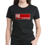 BJJ basics, white red Women's Dark T-Shirt