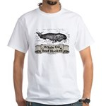 Whale Oil Beef Hooked White T-Shirt