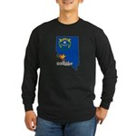 ILY Nevada Long Sleeve Dark T-Shirt