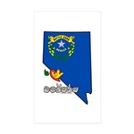 ILY Nevada Sticker (Rectangle 10 pk)