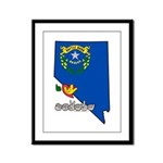 ILY Nevada Framed Panel Print