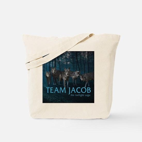 Unique Twilight team jacob Tote Bag
