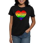 I am loved no matter what Women's Dark T-Shirt