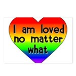 I am loved no matter what Postcards (Package of 8)
