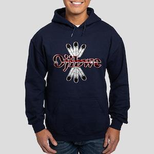 Ojibwe dark Hoodie (dark)