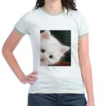The Eyes Have It Jr. Ringer T-Shirt