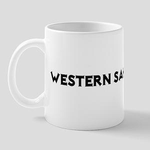 Western Sahara Rocks! Mug