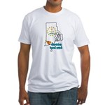 ILY Rhode Island Fitted T-Shirt
