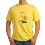 ILY Rhode Island Yellow T-Shirt