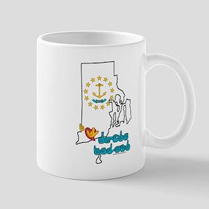 ILY Rhode Island Mug