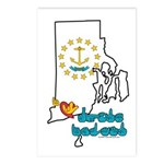 ILY Rhode Island Postcards (Package of 8)