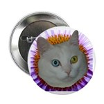 """One Blue 2.25"""" Button (100 pack)"""