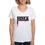 MMA Women's V-Neck T-Shirt