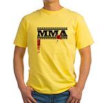MMA Yellow T-Shirt