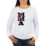 Mixed Martial Art Women's Long Sleeve T-Shirt
