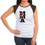Mixed Martial Art Women's Cap Sleeve T-Shirt