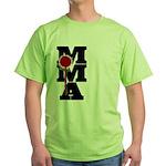 Mixed Martial Art Green T-Shirt