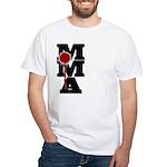 Mixed Martial Art White T-Shirt