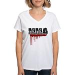 Rough MMA no frills Women's V-Neck T-Shirt