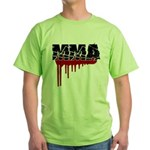 Rough MMA no frills Green T-Shirt