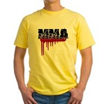 Rough MMA no frills Yellow T-Shirt