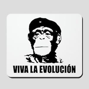 Viva La Evolucion Mousepad