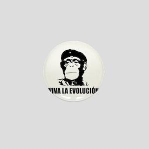 Viva La Evolucion Mini Button