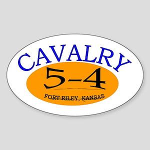 5th Squadron 4th Cavalry Sticker (Oval)