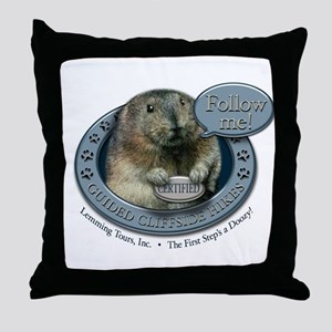 Lemming Tours, Inc. Throw Pillow