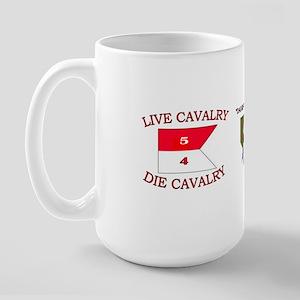 5th Squadron 4th Cavalry Large Mug