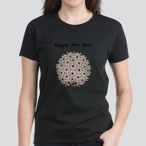 Happy New Year's Ball Women's Dark T-Shirt