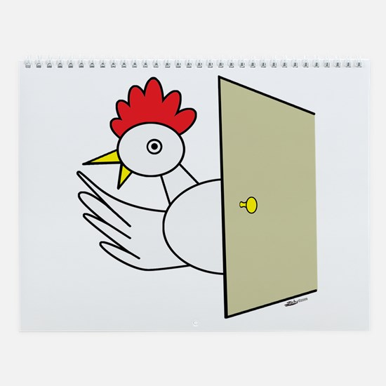Cocky Cartoons Wall Calendar