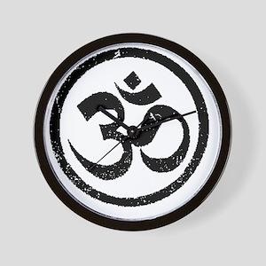 Om Aum Hindu Mantra Wall Clock