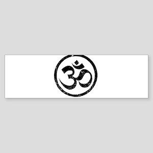 Om Aum Hindu Mantra Sticker (Bumper)