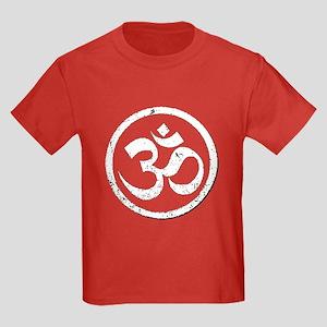 Aum Ohm Om Kids Dark T-Shirt