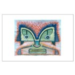 Ethnographic Mask Large Poster