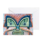Ethnographic Mask Greeting Card