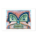 Ethnographic Mask Postcards (Package of 8)