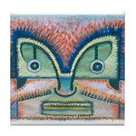 Ethnographic Mask Tile Coaster