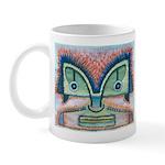 Ethnographic Mask Mug