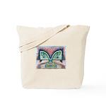 Ethnographic Mask Tote Bag