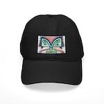 Ethnographic Mask Black Cap