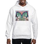Ethnographic Mask Hooded Sweatshirt
