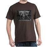 Joyful Mask B&W Dark T-Shirt