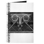 Joyful Mask B&W Journal