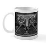 Joyful Mask B&W Mug