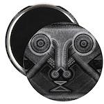 Joyful Mask B&W Magnet