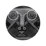 Joyful Mask B&W 3.5