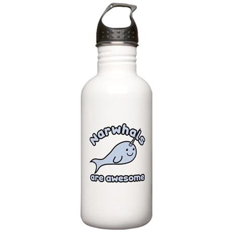 Narwhals Are Awesome Stainless Water Bottle 1.0L